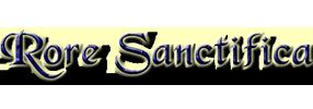 RORE SANCTIFICA | Le site Rore Sanctifica présente les travaux du Comité International et ses arguments, ainsi que les objections qu'il réfute :